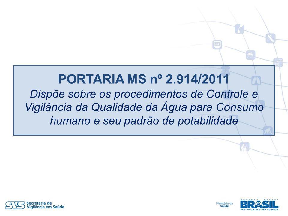 PORTARIA MS nº 2.914/2011