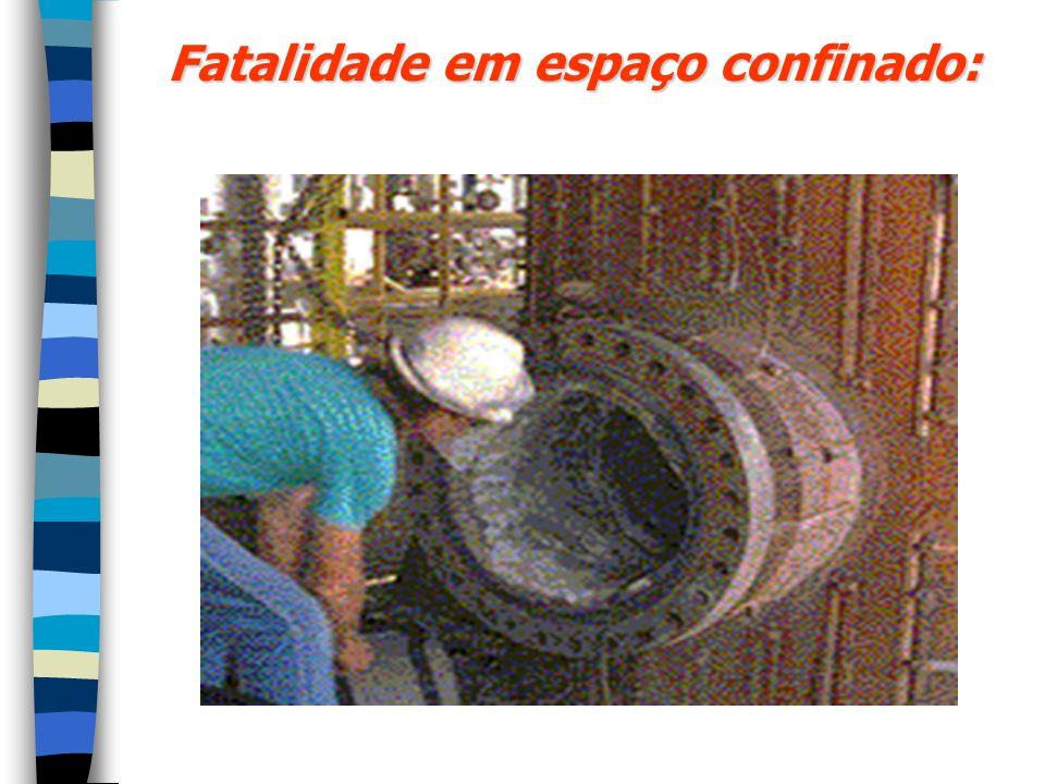Fatalidade em espaço confinado: