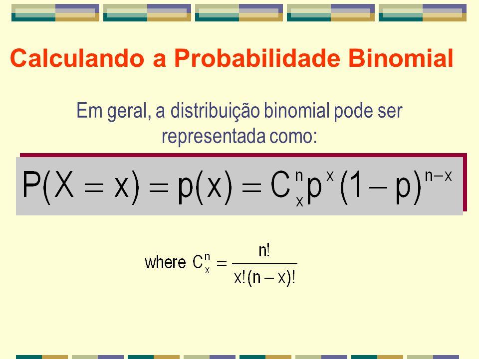 Calculando a Probabilidade Binomial