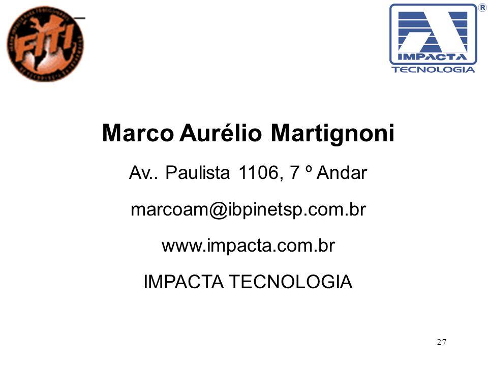 Marco Aurélio Martignoni