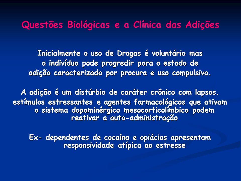 Questões Biológicas e a Clínica das Adições