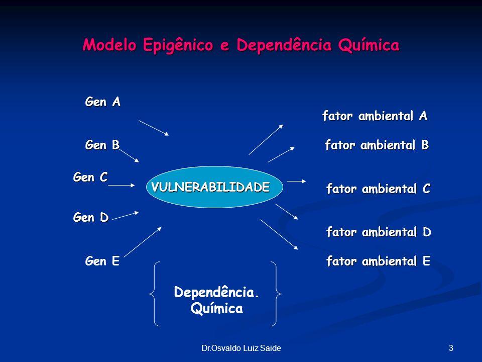 Modelo Epigênico e Dependência Química