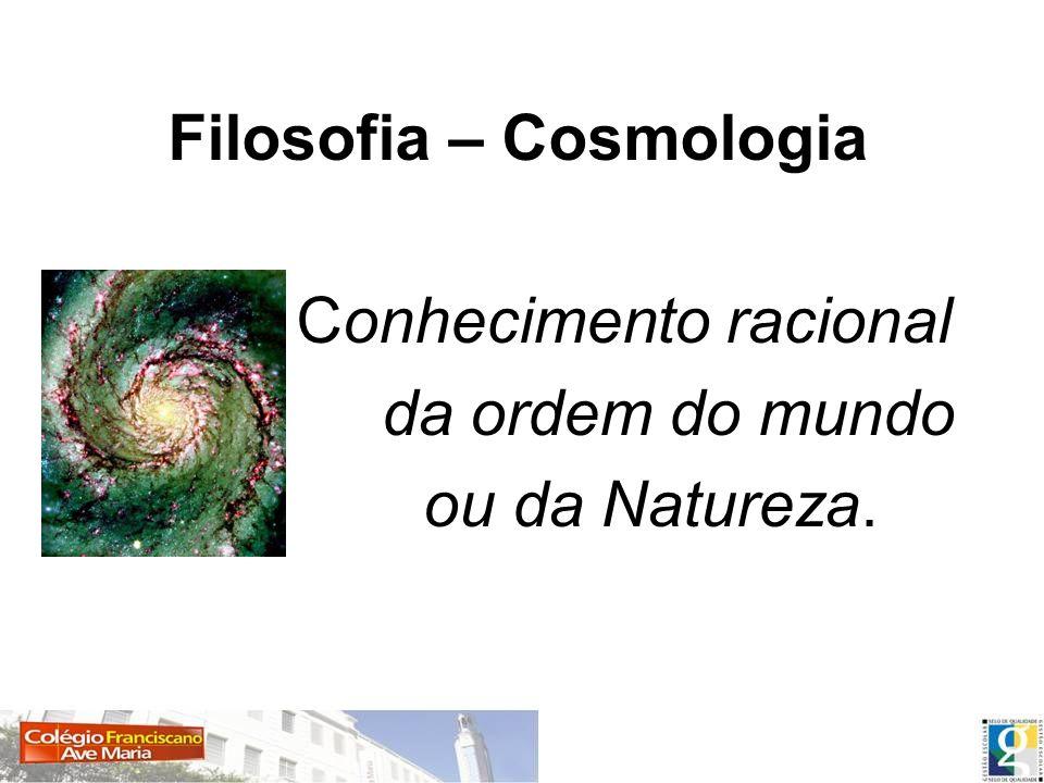 Filosofia – Cosmologia