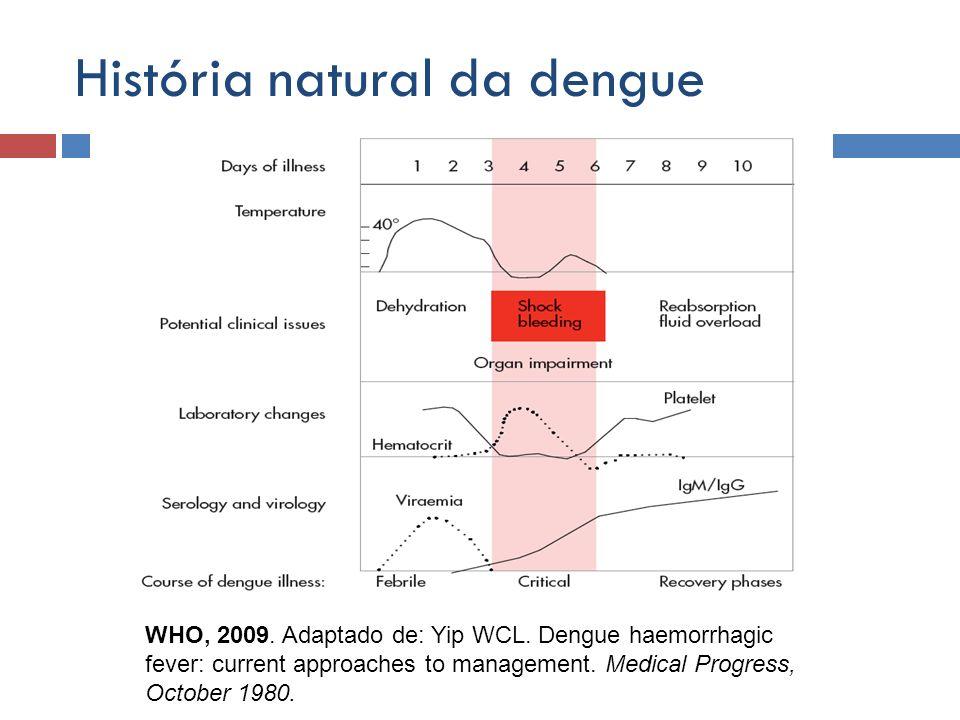 História natural da dengue