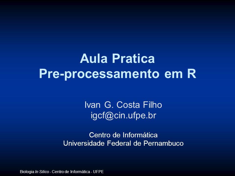 Pre-processamento em R