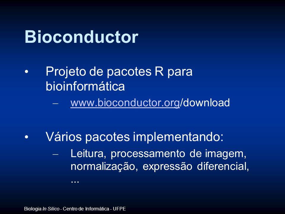 Bioconductor Projeto de pacotes R para bioinformática