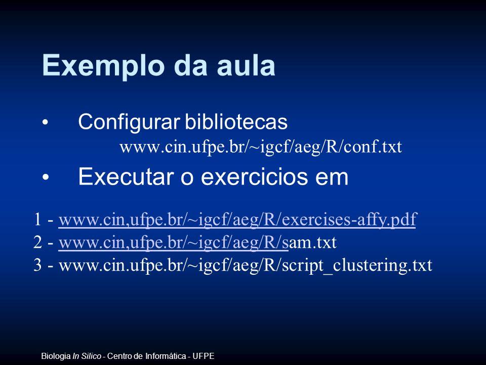 Exemplo da aula Executar o exercicios em Configurar bibliotecas