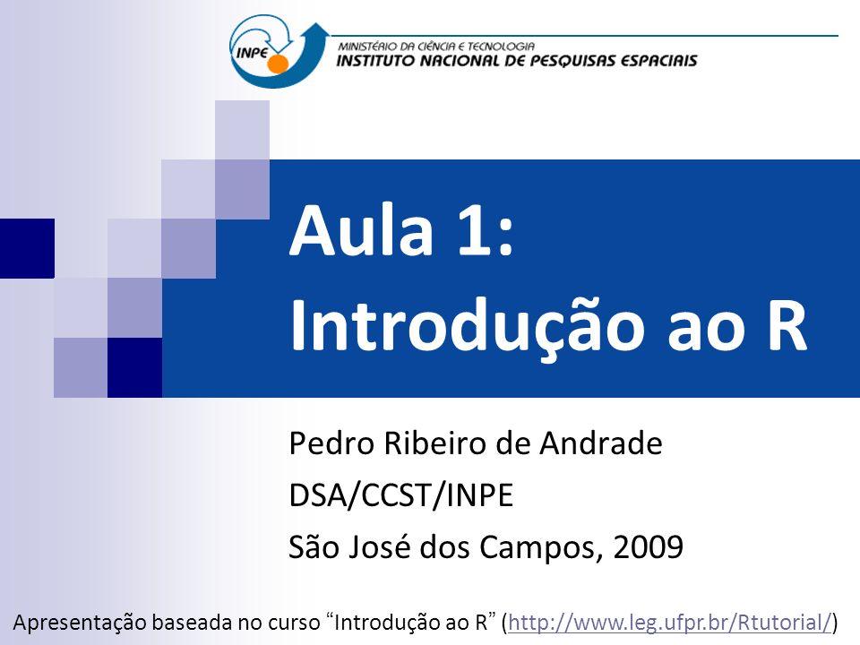 Pedro Ribeiro de Andrade DSA/CCST/INPE São José dos Campos, 2009