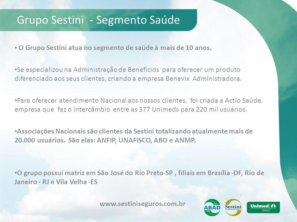 Grupo Sestini - Segmento Saúde