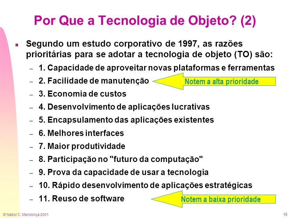 Por Que a Tecnologia de Objeto (2)