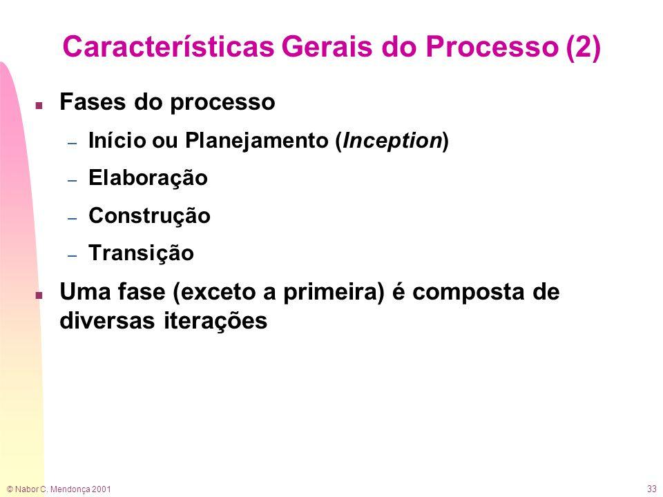 Características Gerais do Processo (2)