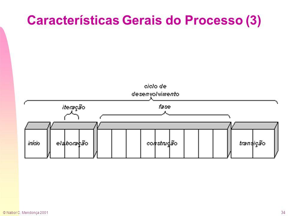 Características Gerais do Processo (3)