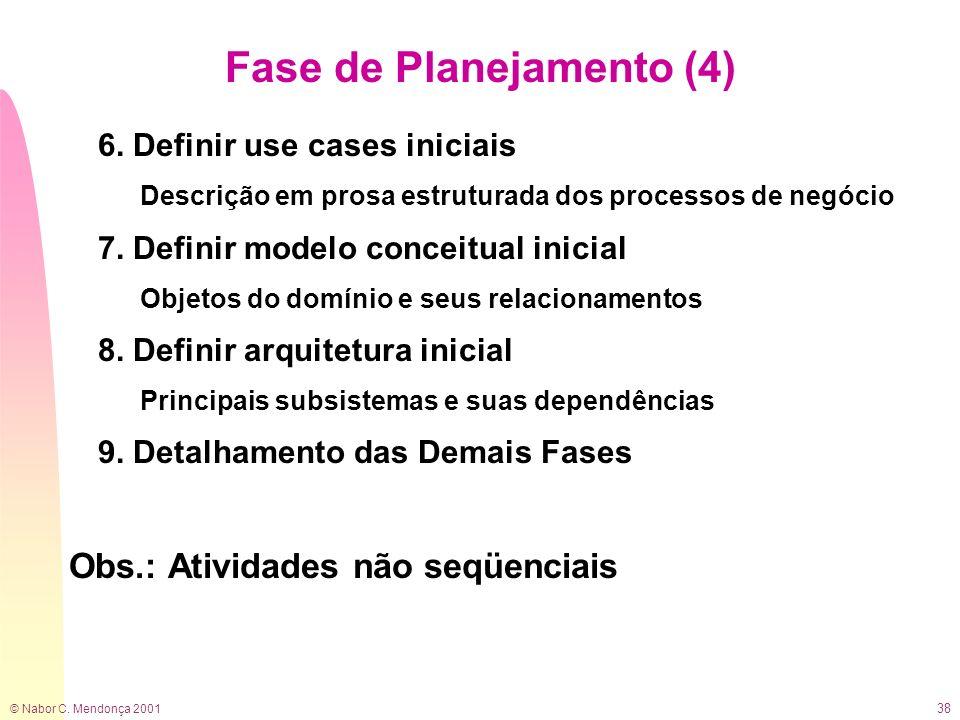Fase de Planejamento (4)