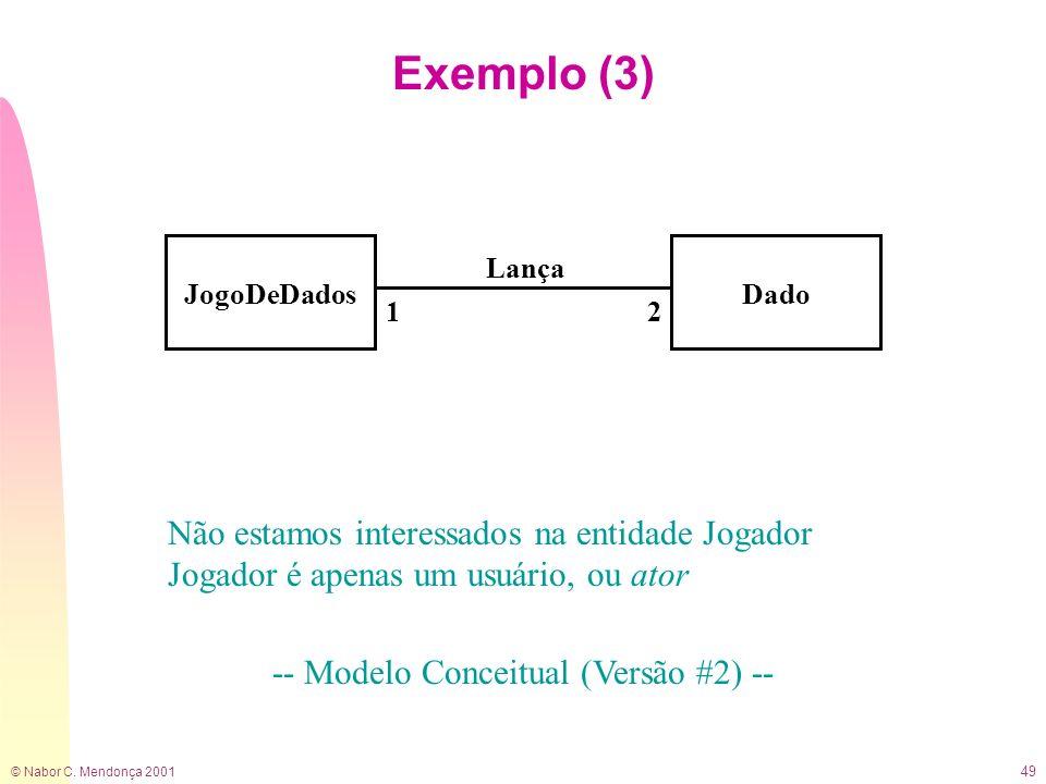 -- Modelo Conceitual (Versão #2) --