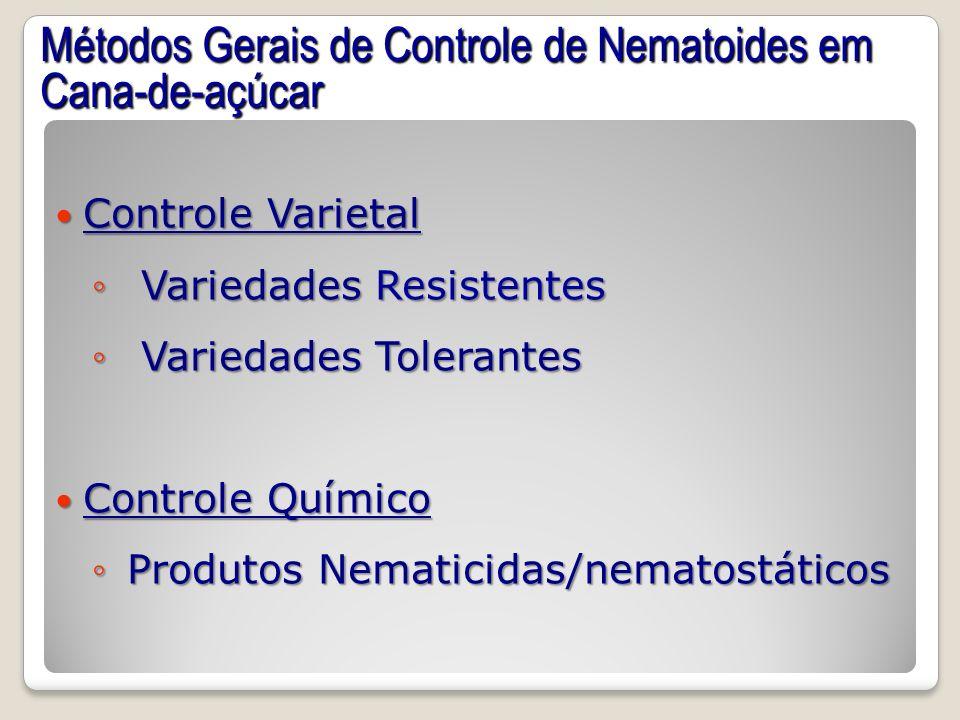 Métodos Gerais de Controle de Nematoides em Cana-de-açúcar