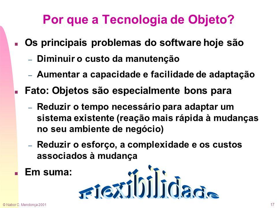 Por que a Tecnologia de Objeto