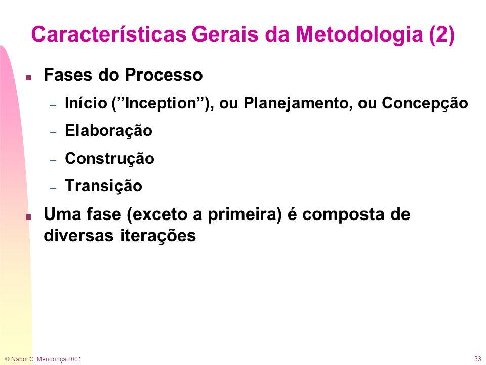 Características Gerais da Metodologia (2)