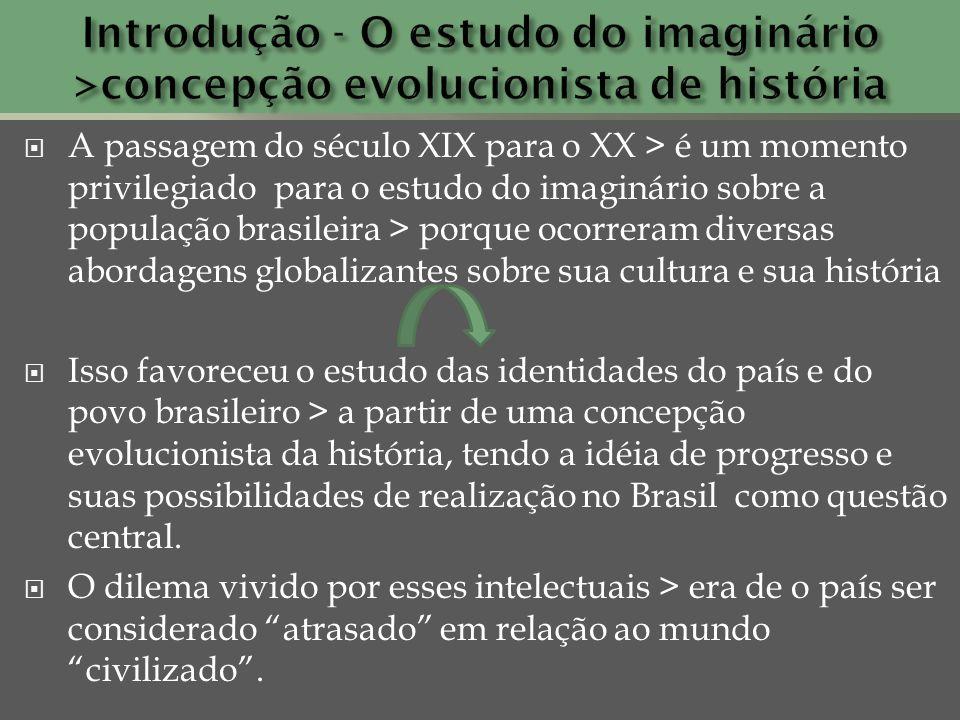 Introdução - O estudo do imaginário >concepção evolucionista de história
