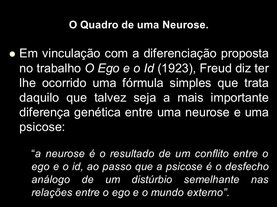 O Quadro de uma Neurose.