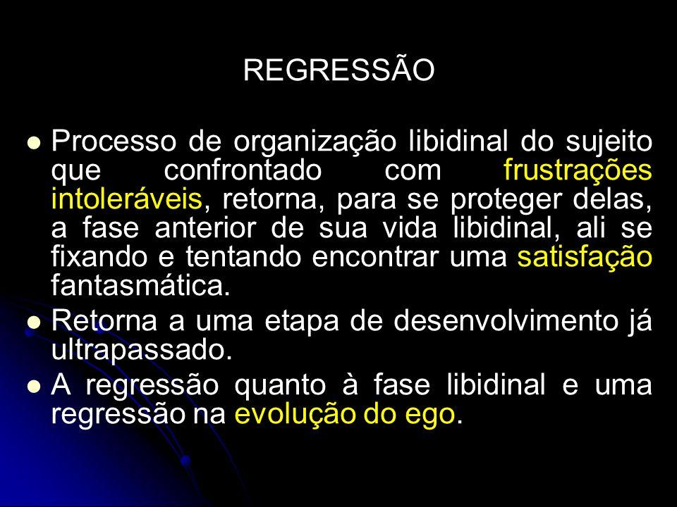 REGRESSÃO