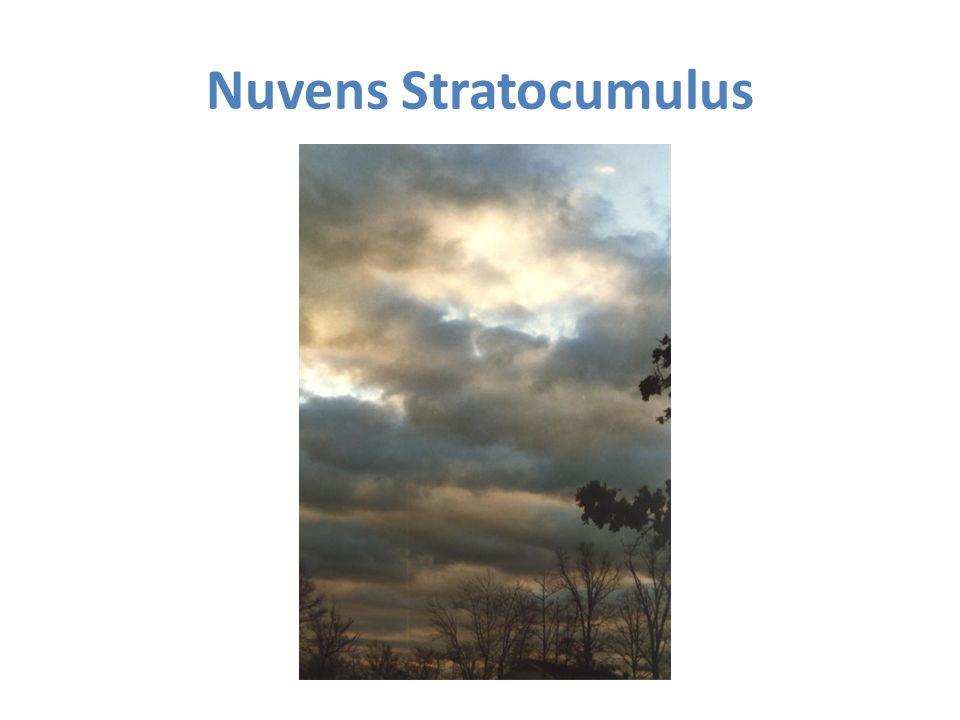 Nuvens Stratocumulus