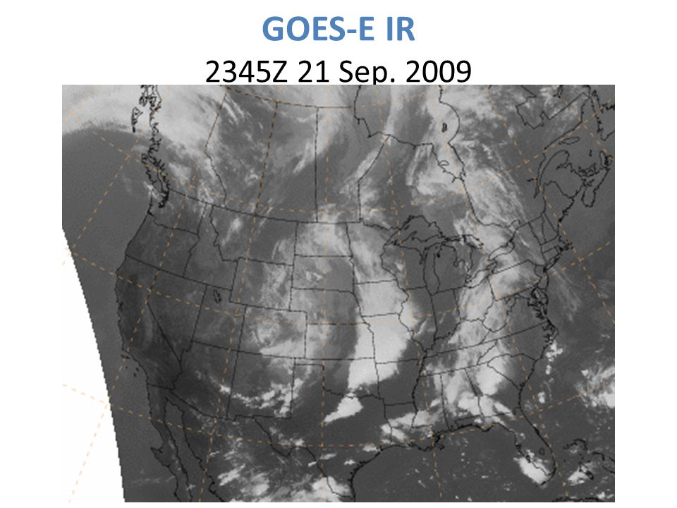 GOES-E IR 2345Z 21 Sep. 2009