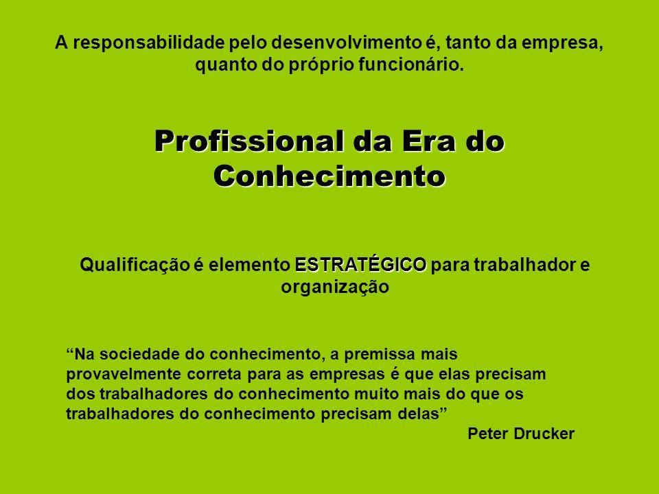 Qualificação é elemento ESTRATÉGICO para trabalhador e organização