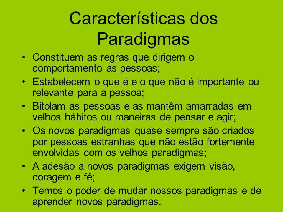 Características dos Paradigmas