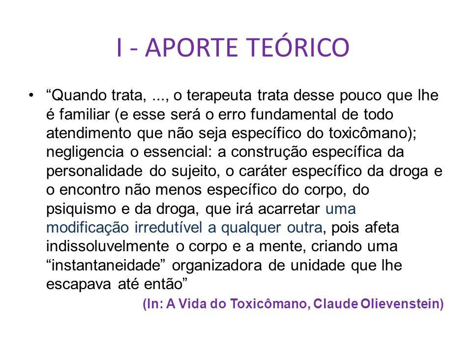 I - APORTE TEÓRICO