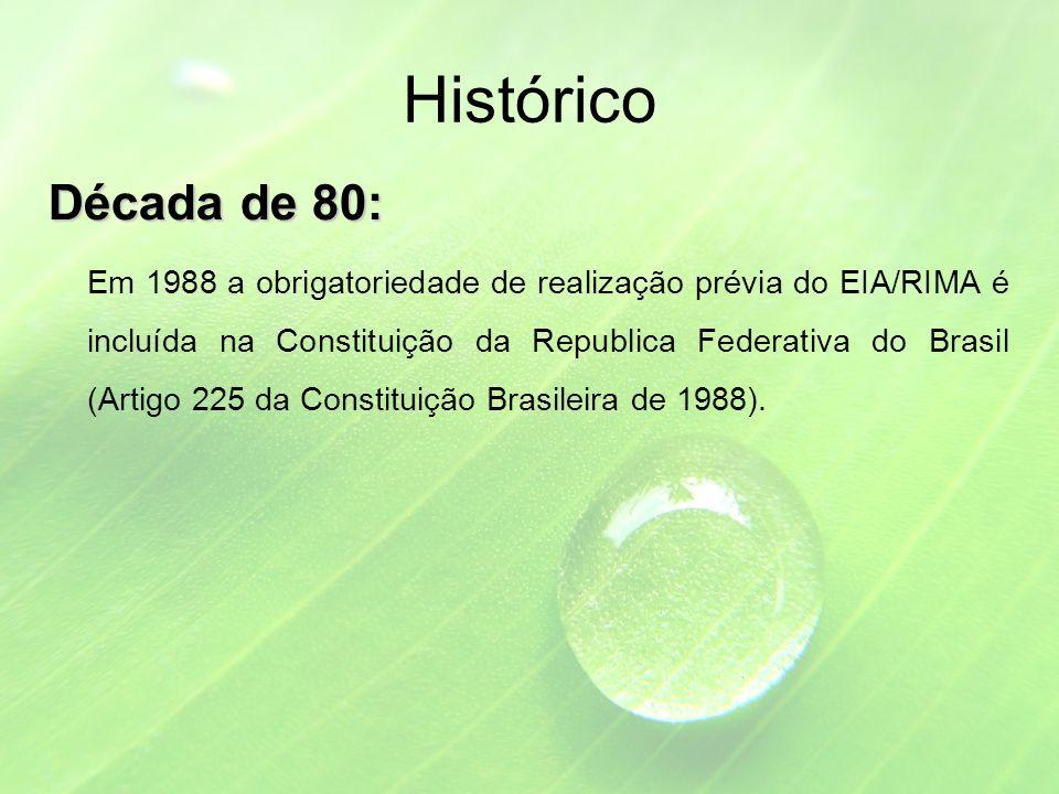 Histórico Década de 80: