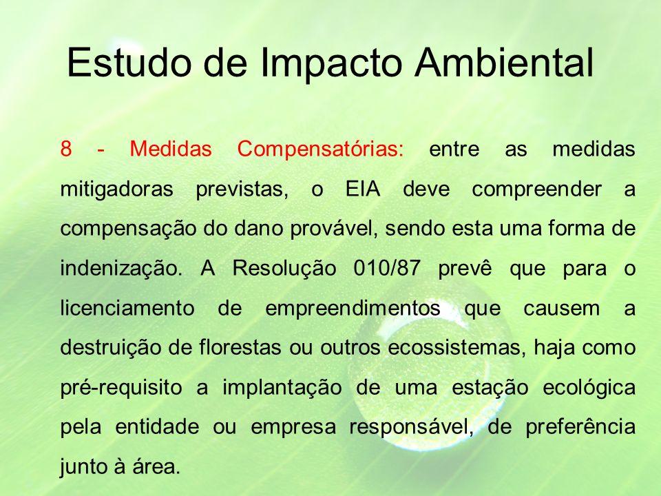 Estudo de Impacto Ambiental