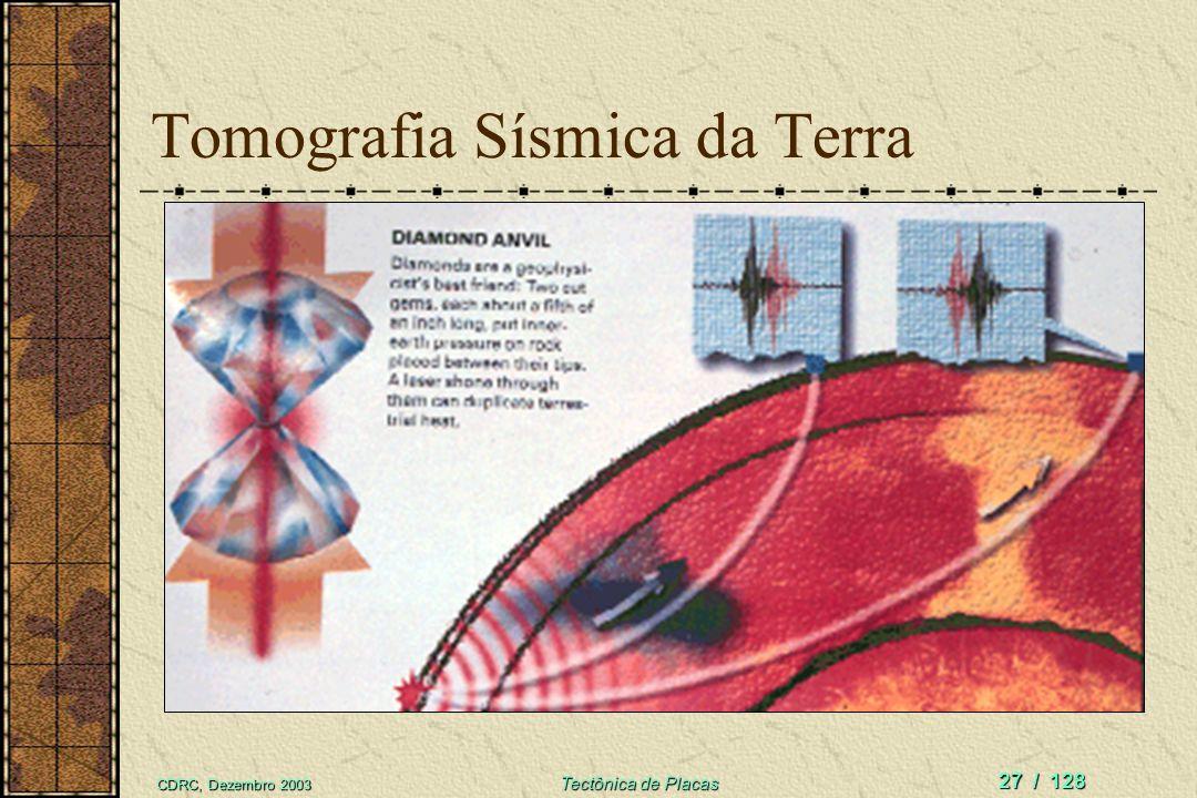Tomografia Sísmica da Terra