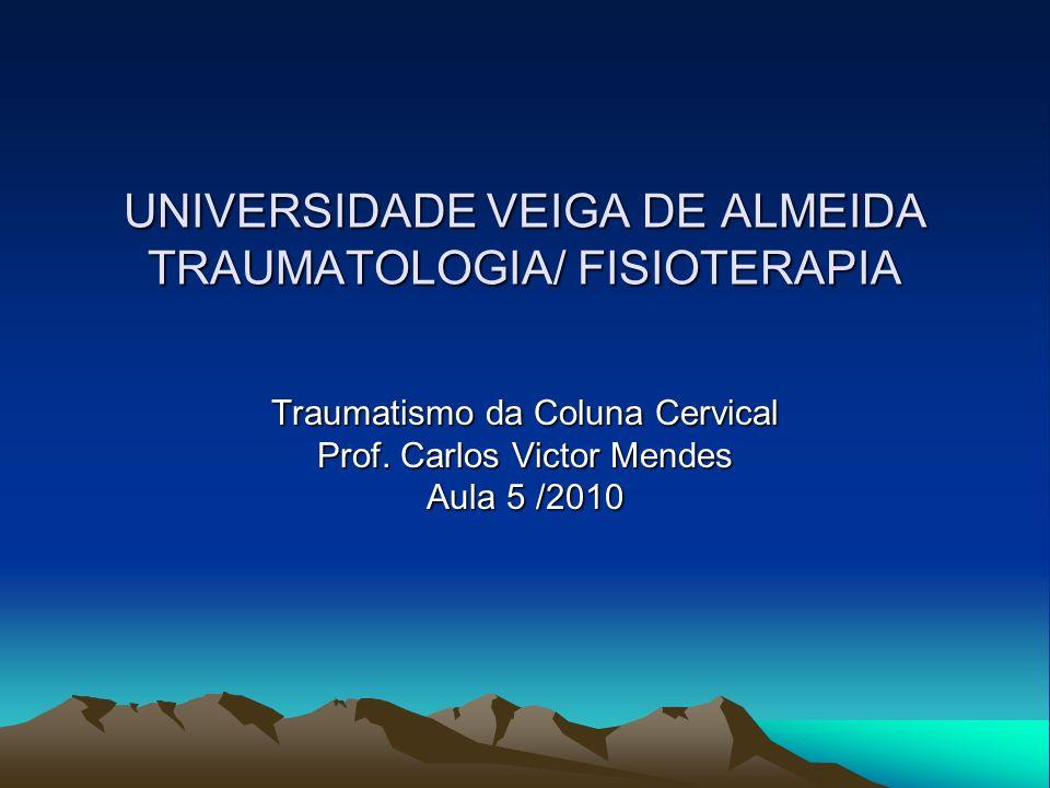 UNIVERSIDADE VEIGA DE ALMEIDA TRAUMATOLOGIA/ FISIOTERAPIA