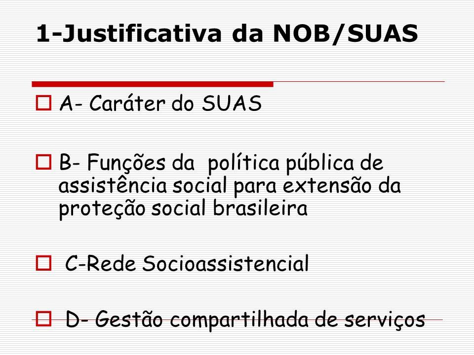 1-Justificativa da NOB/SUAS