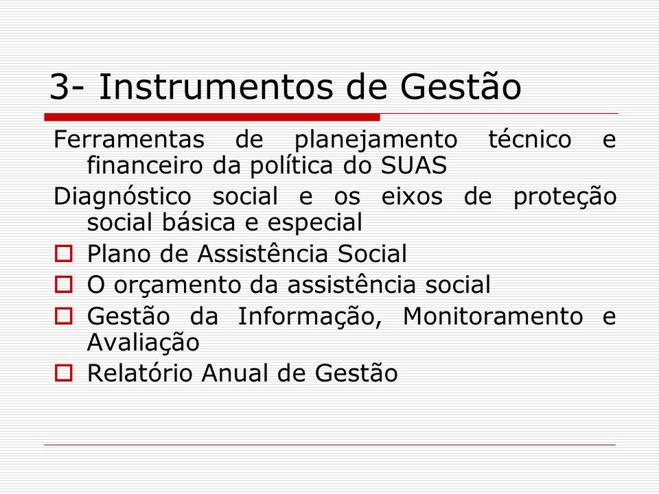 3- Instrumentos de Gestão