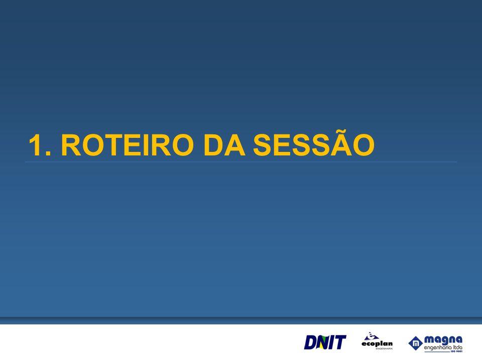 1. ROTEIRO DA SESSÃO
