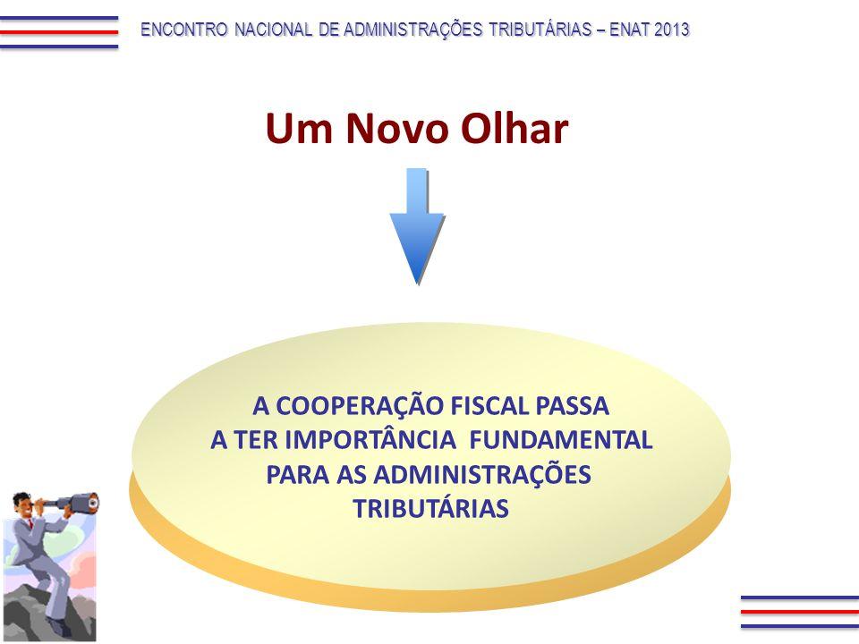 Um Novo Olhar A COOPERAÇÃO FISCAL PASSA A TER IMPORTÂNCIA FUNDAMENTAL