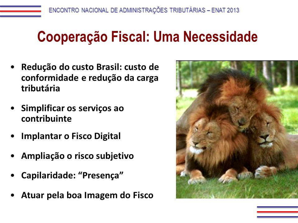 Cooperação Fiscal: Uma Necessidade
