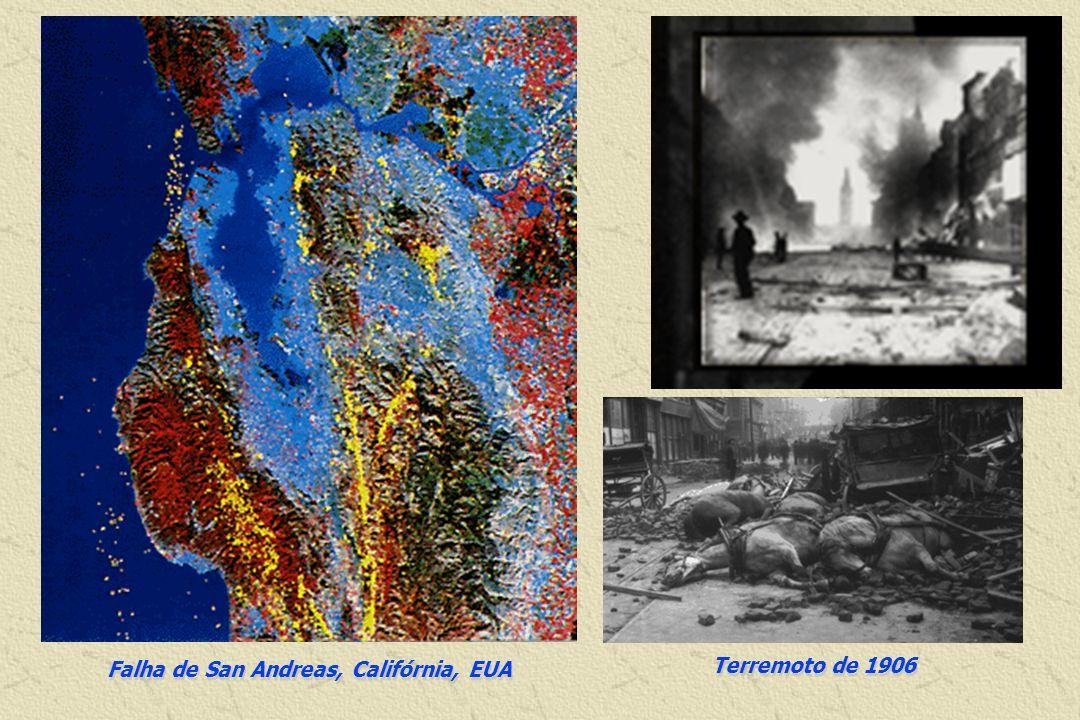 Falha de San Andreas, Califórnia, EUA