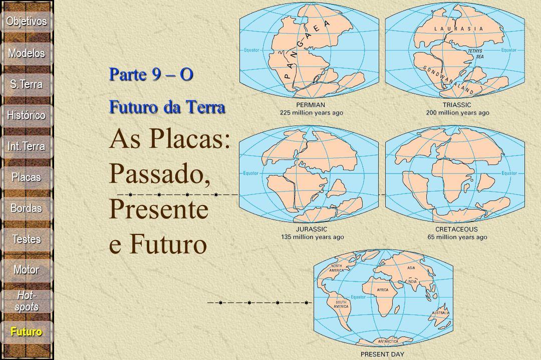 Parte 9 – O Futuro da Terra As Placas: Passado, Presente e Futuro