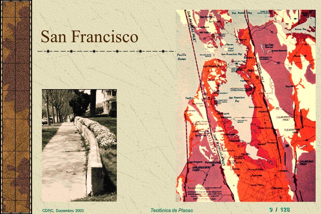 San Francisco CDRC, Dezembro 2003 Tectônica de Placas