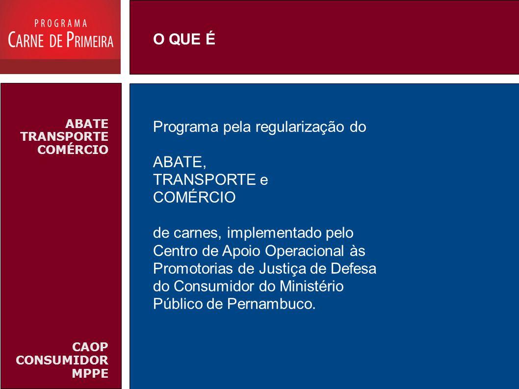 O QUE ÉABATE TRANSPORTE COMÉRCIO. CAOP CONSUMIDOR MPPE.
