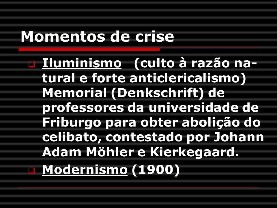 Momentos de crise