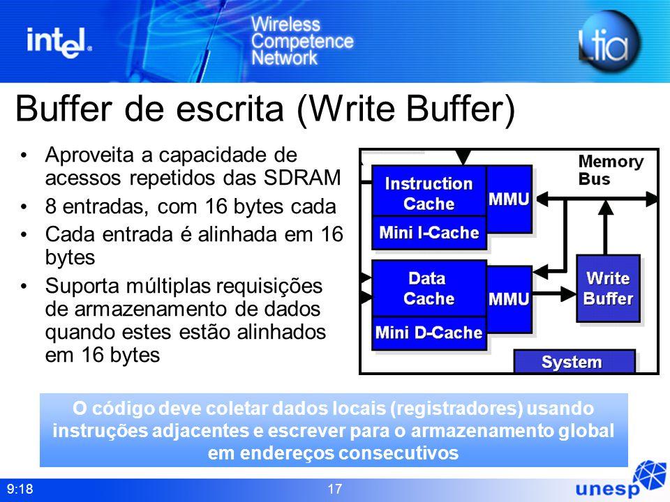 Buffer de escrita (Write Buffer)