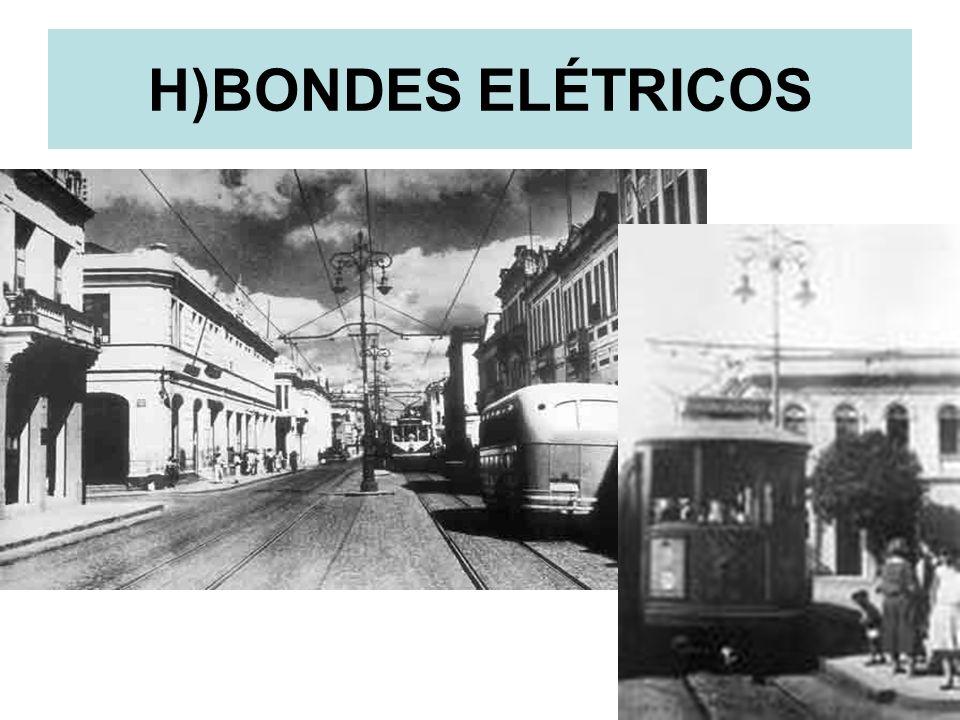 H)BONDES ELÉTRICOS