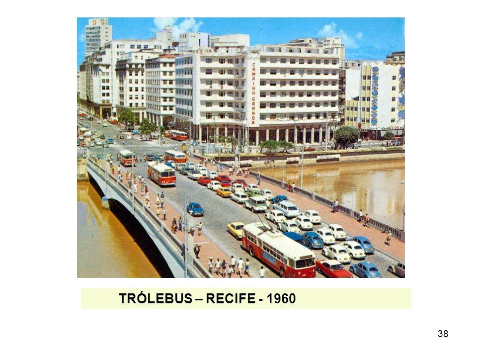 TRÓLEBUS – RECIFE - 1960