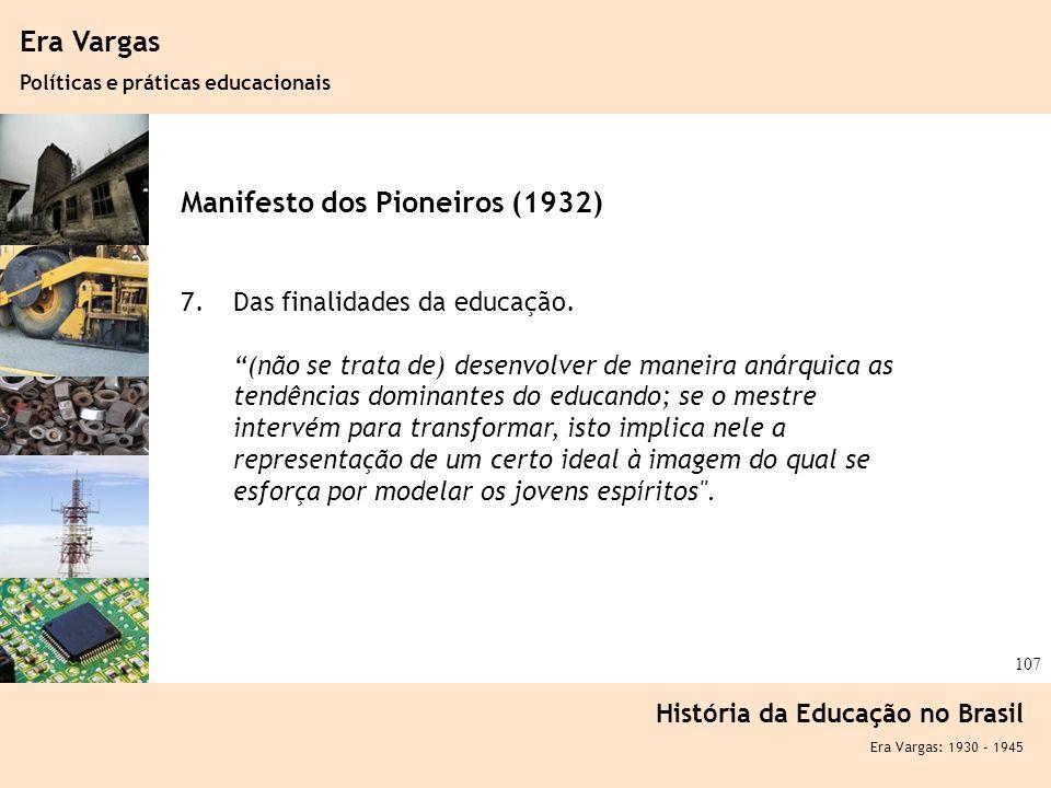 Manifesto dos Pioneiros (1932)