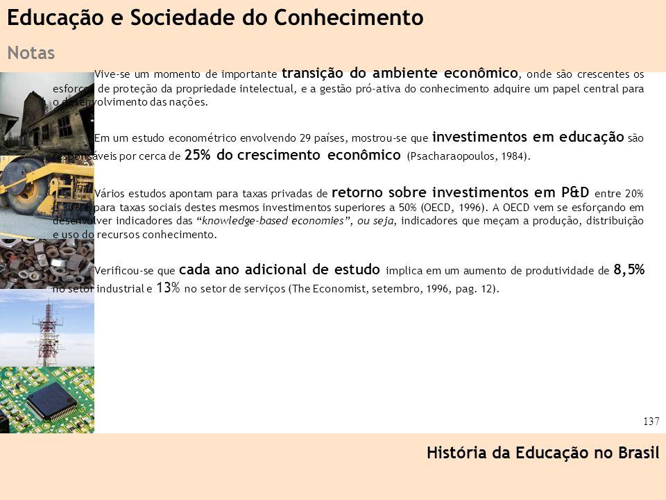 Educação e Sociedade do Conhecimento