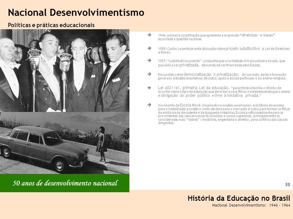 Nacional Desenvolvimentismo