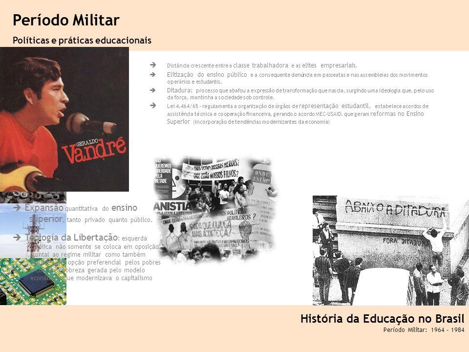 Período Militar História da Educação no Brasil